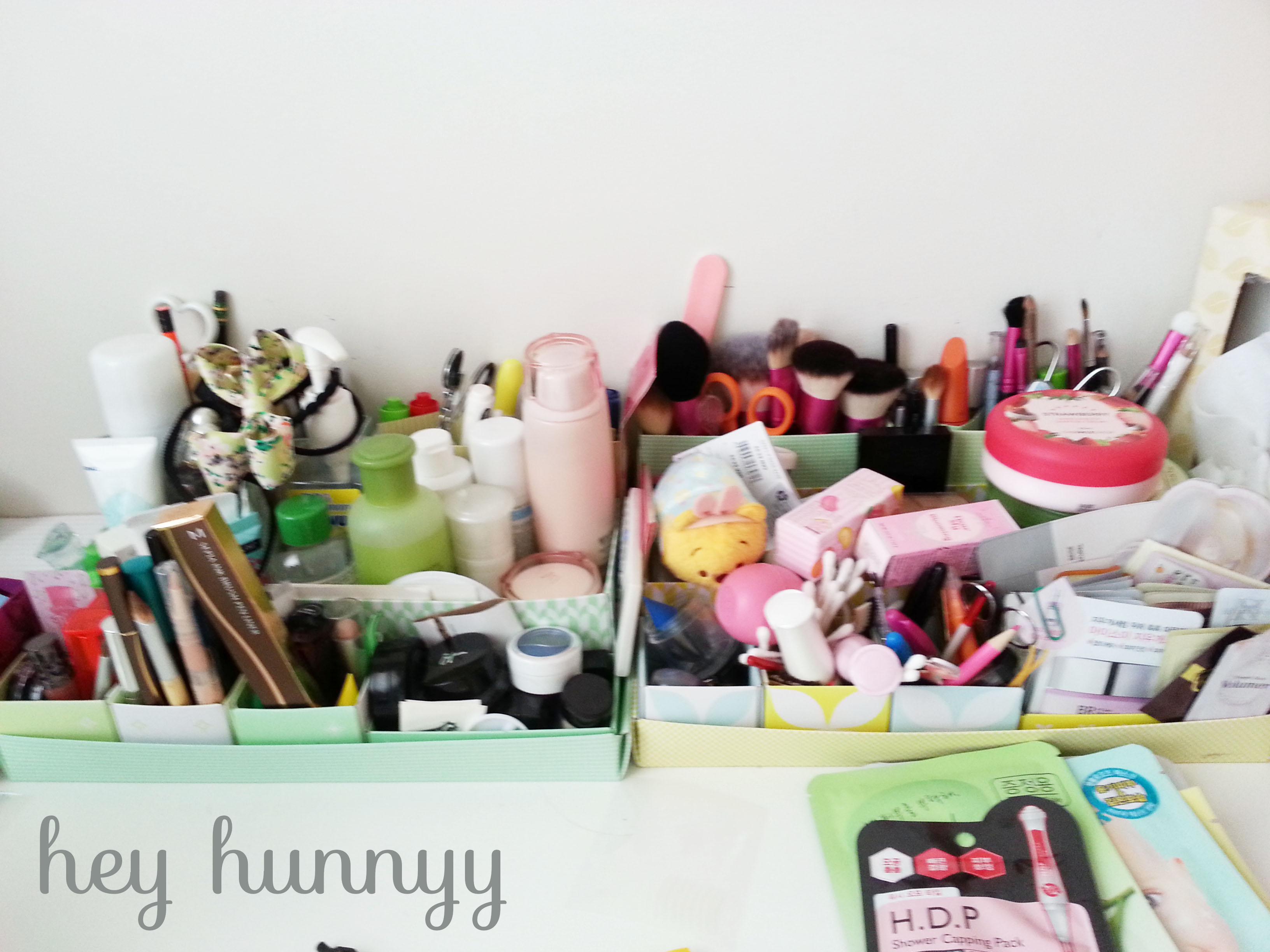 Makeup Organization::How I store my products