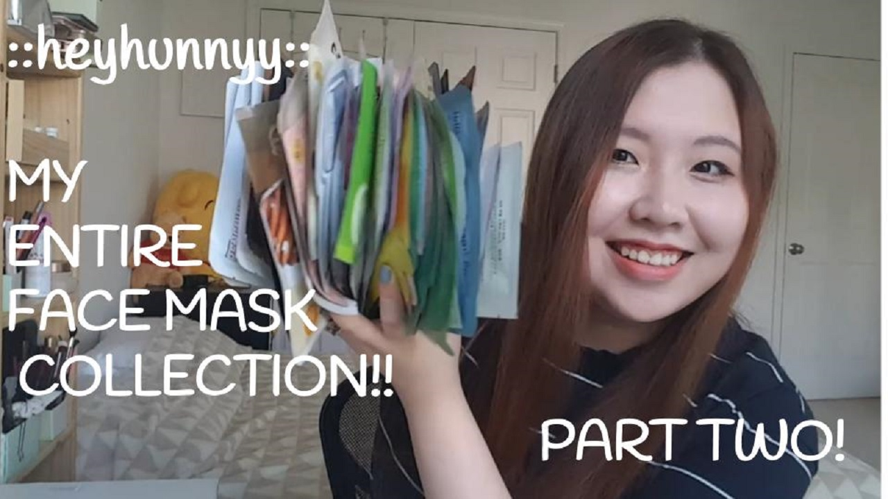 ::YOUTUBE:: Part TWO of my Korean Face Mask Collection!!!
