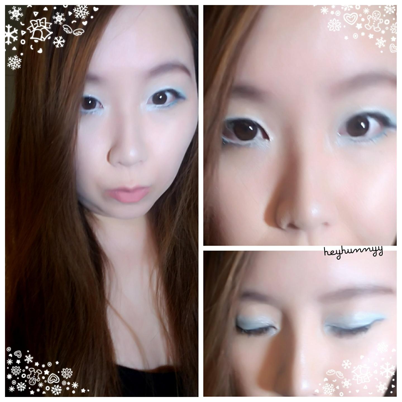 ::HUNNYYHOLIDAYS:: Day 7- Snowy Wonderland Makeup!