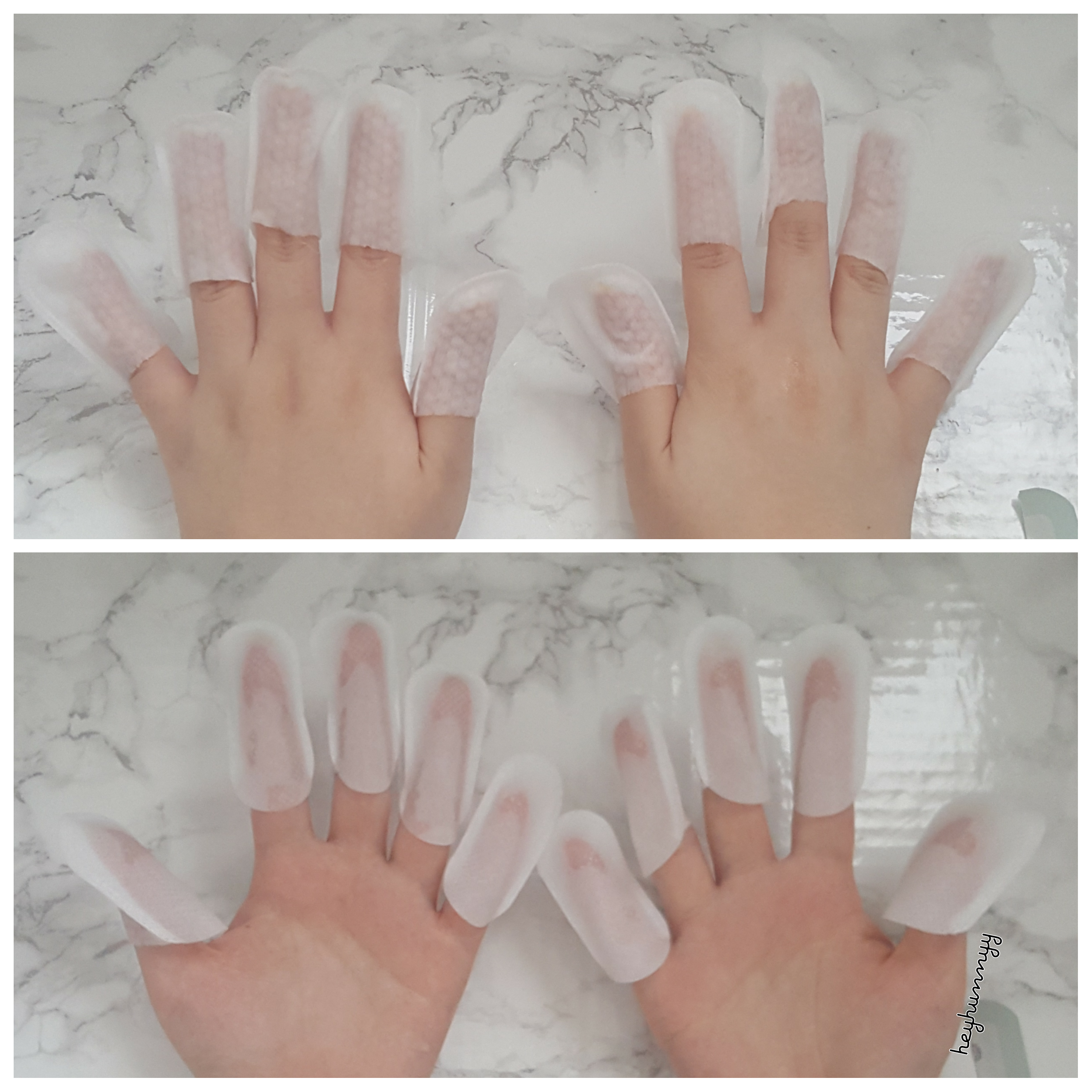 ::REVIEW:: THE FACE SHOP Paraffin Nutrition Nail Pack