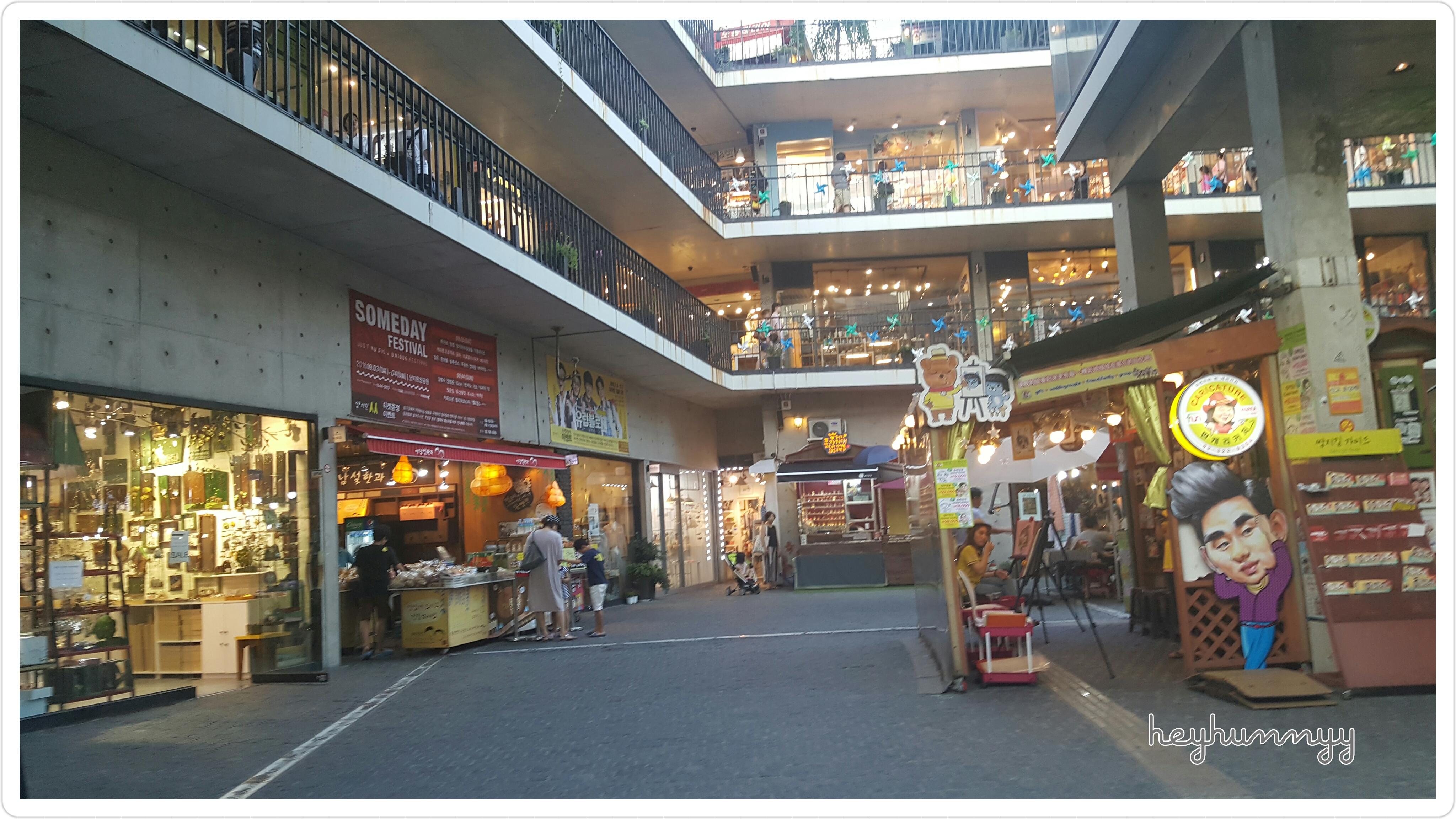 ::KOREA:: Insadong Shopping Center~!