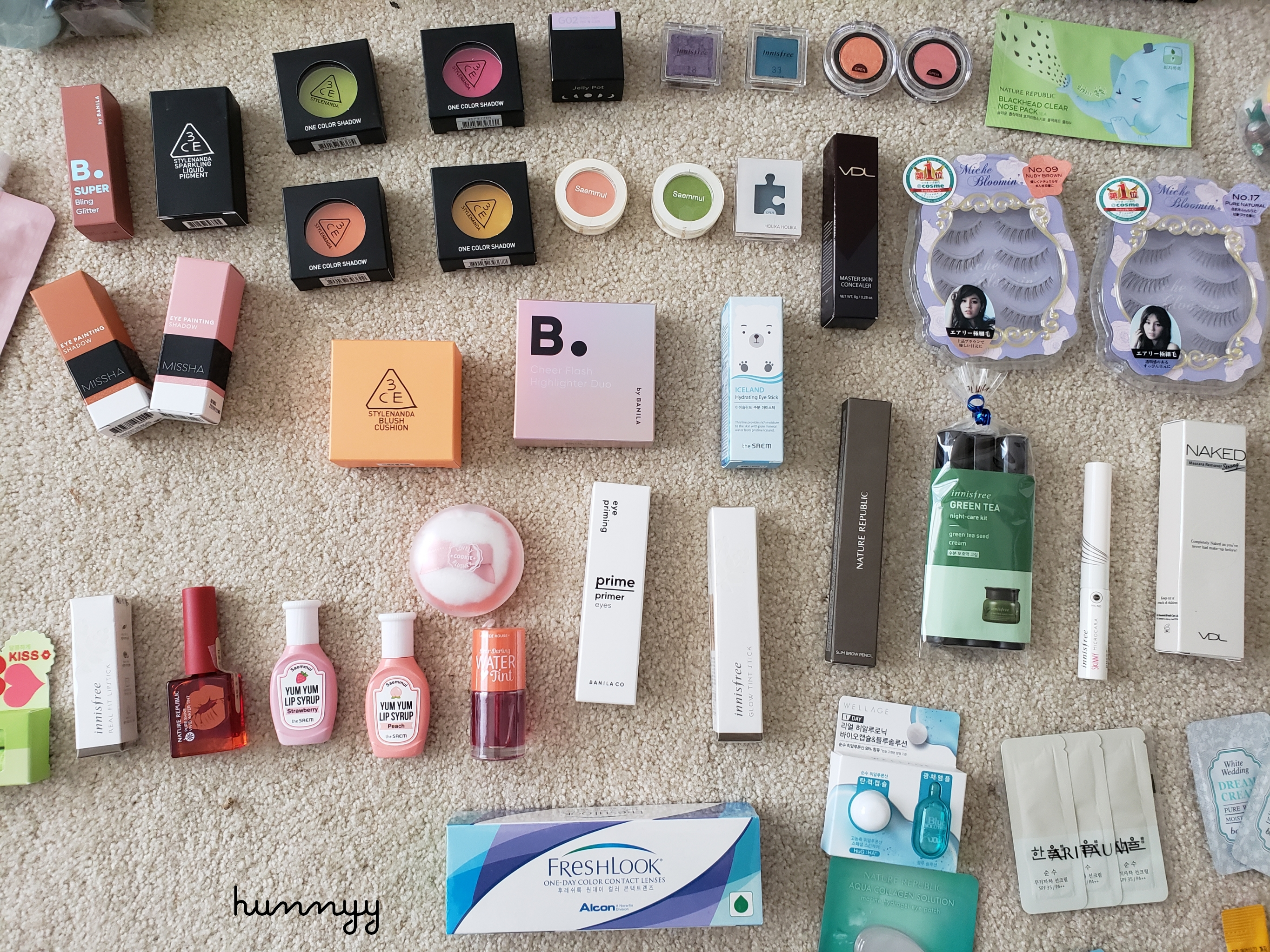::Hunnyy Index:: Every Single Etude House Product I've Ever Tried!! (LIST)