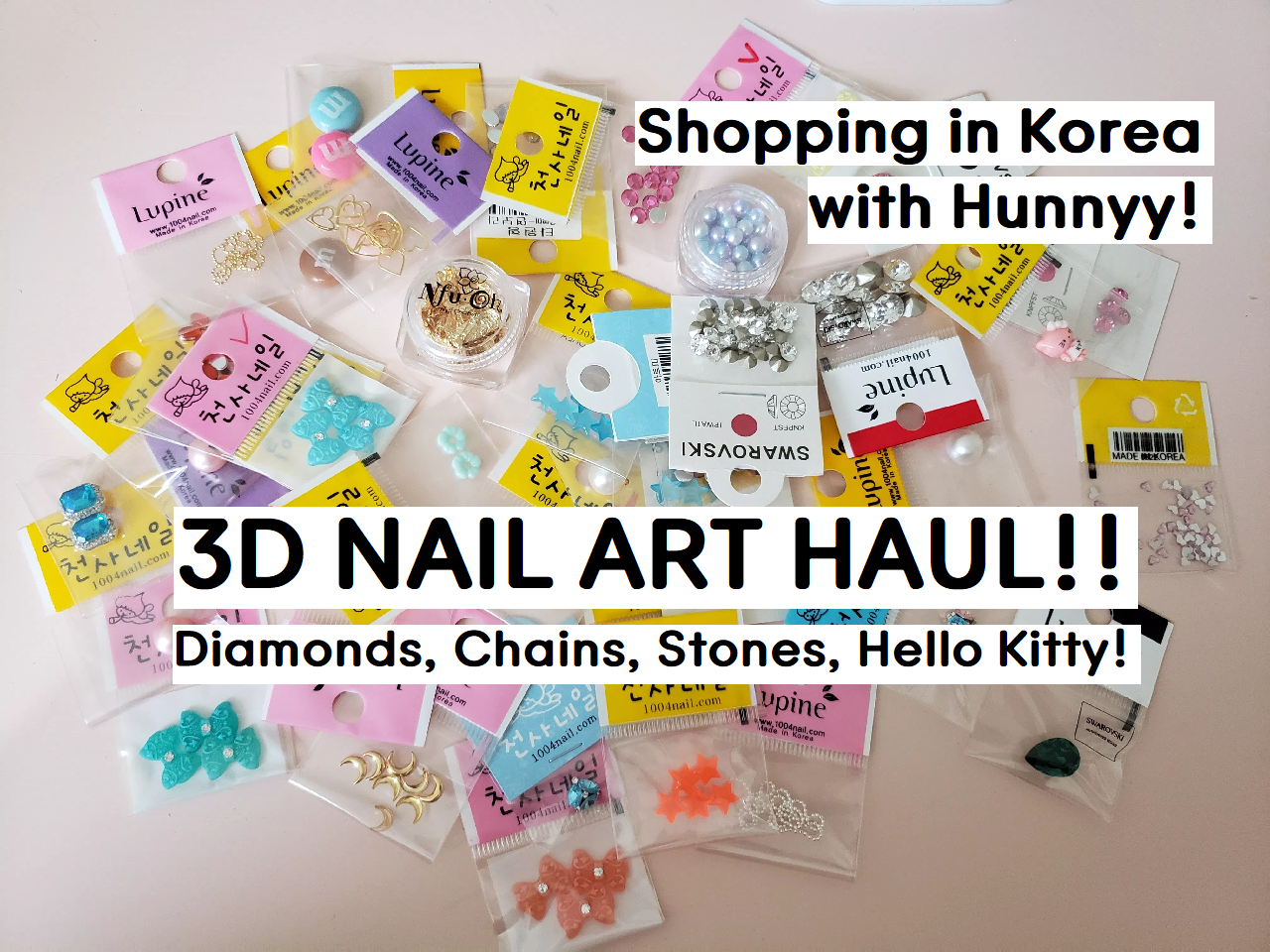 ::YOUTUBE:: I'm Back! My Nail Stone Haul!!