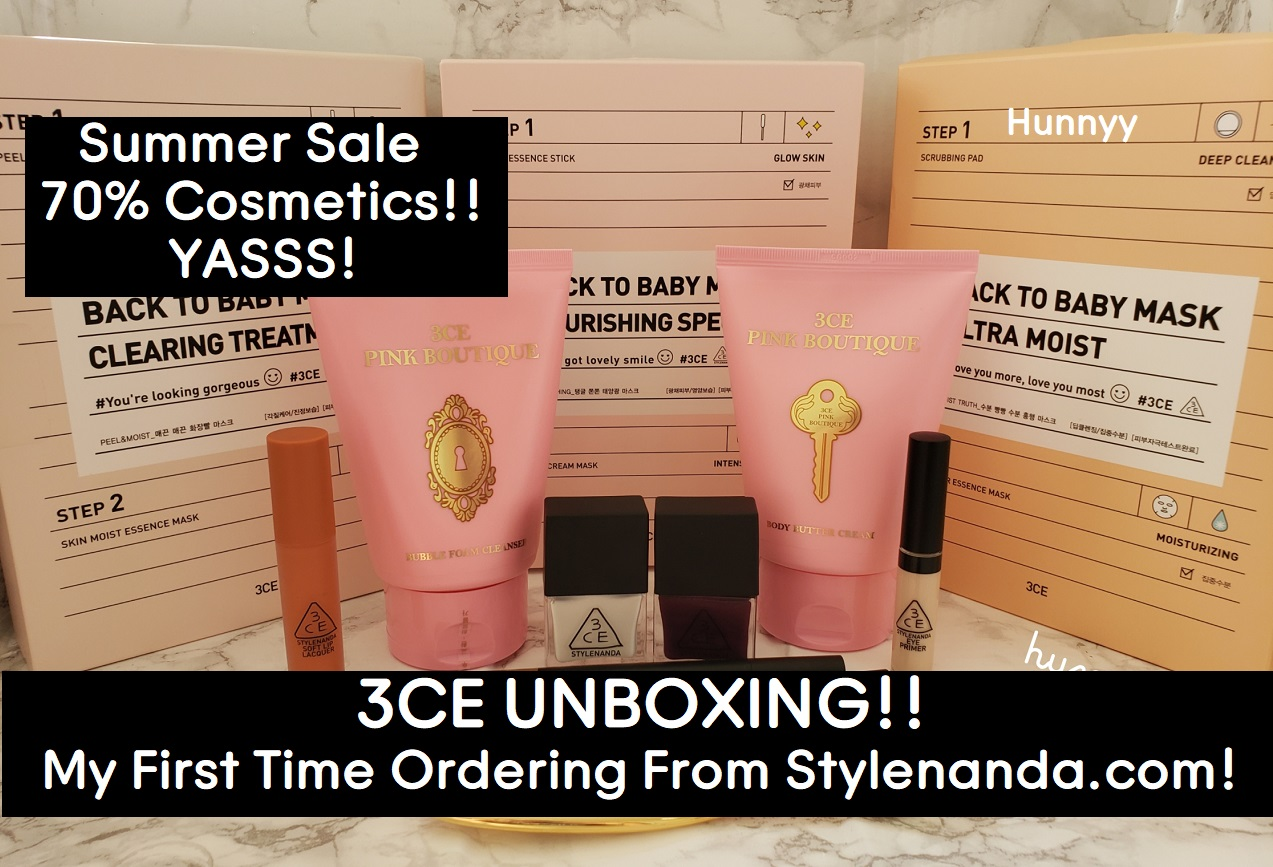 ::YOUTUBE:: 3CE SUMMER UNBOXING!!!