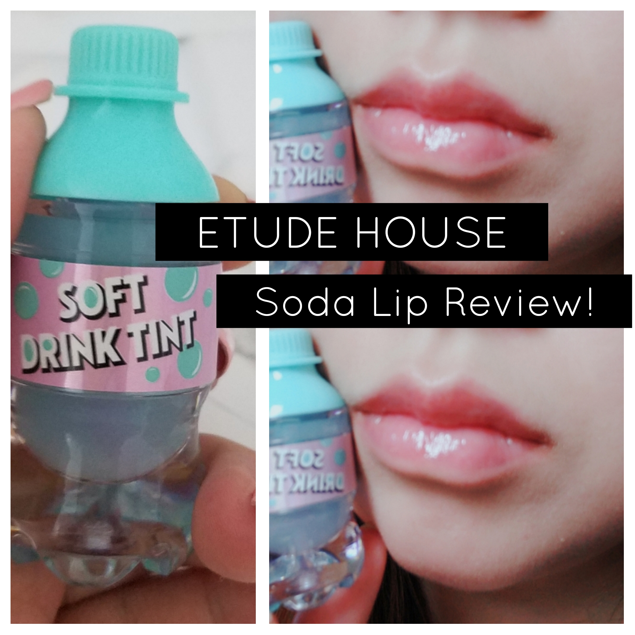 ::REVIEW:: Etude House Soft Drink Tint!