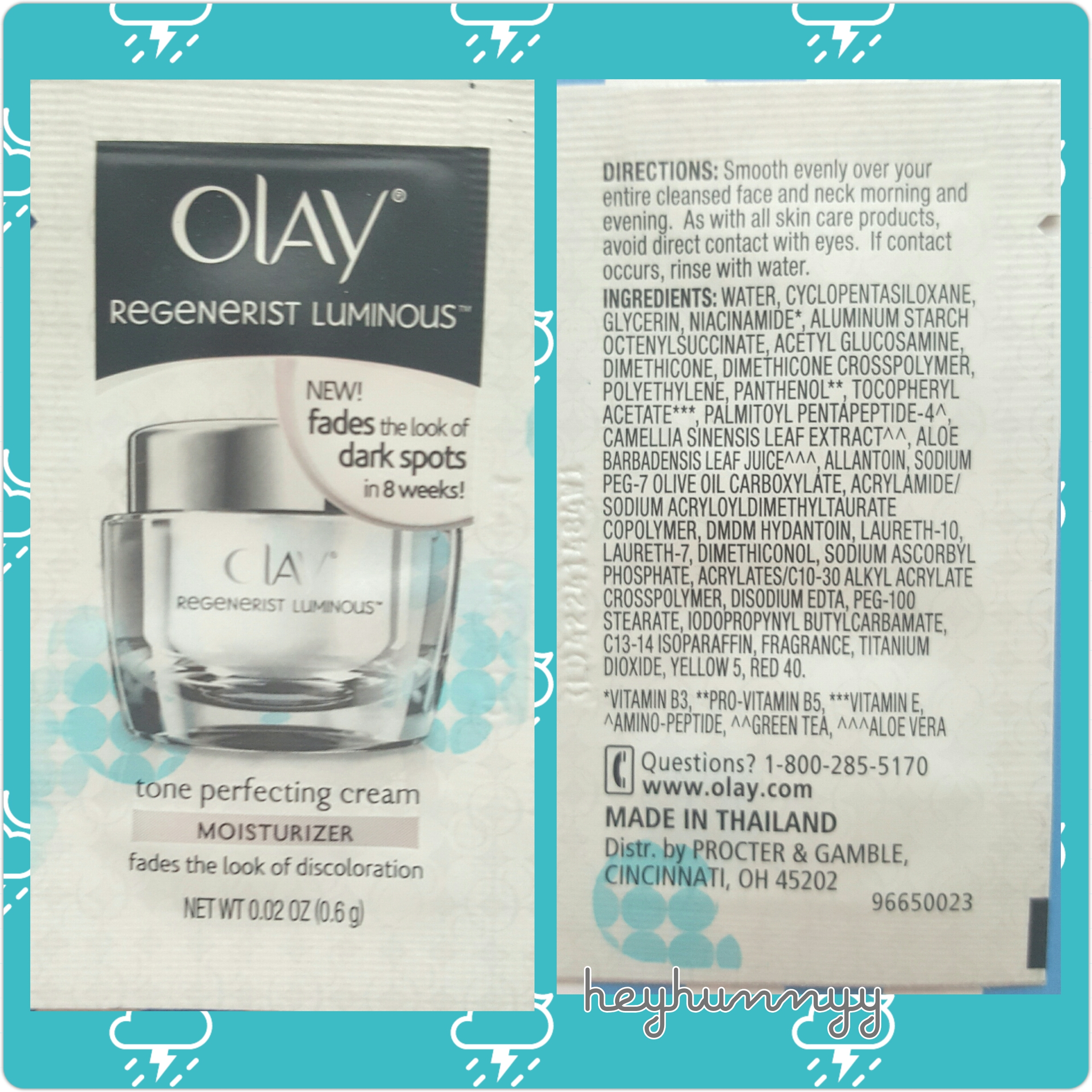 ::REVIEW:: Olay – Tone Perfecting Cream!