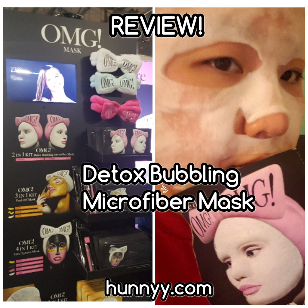 ::REVIEW:: Omg! 2-in-1 Detox Bubbling Mask!