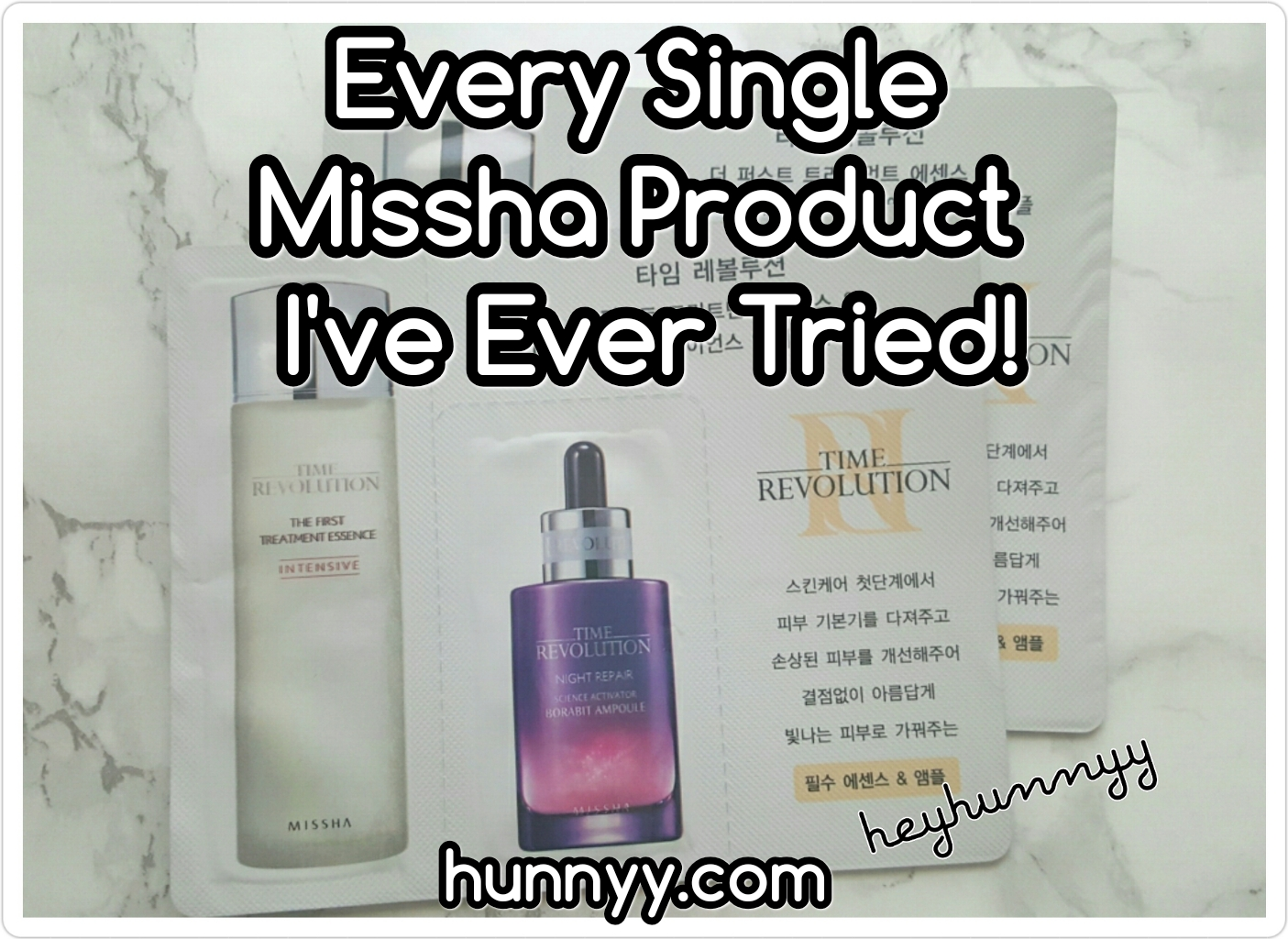 My Missha Collection!