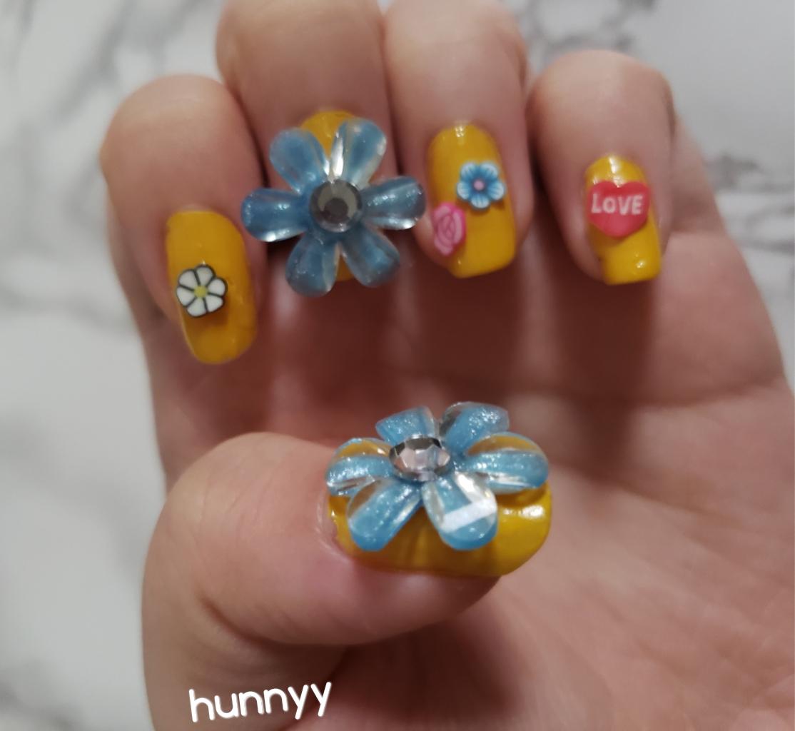 ::SPRING FLOWERS:: Nail Design!