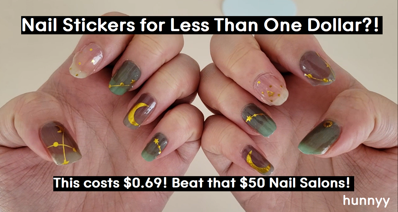 ::YOUTUBE:: DIY Nail Wraps from Aliexpress! – SO CHEAP BUT IT WORKSSS!