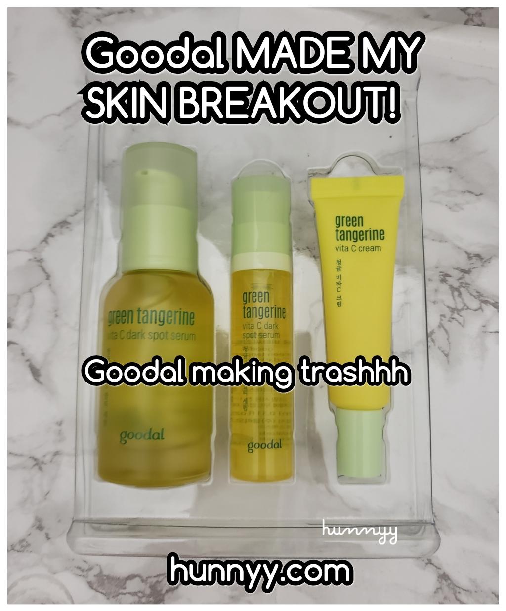 ::SH#&!:: Gooddal Vitamin C Product Made My Skin BREAKOUT!