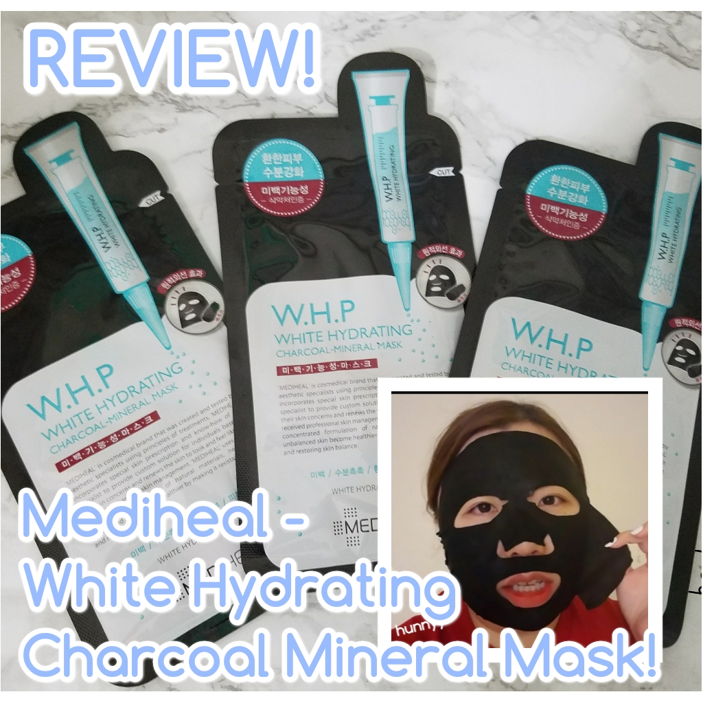 ::REVIEW:: Mediheal – W.H.P Charcoal Mask!