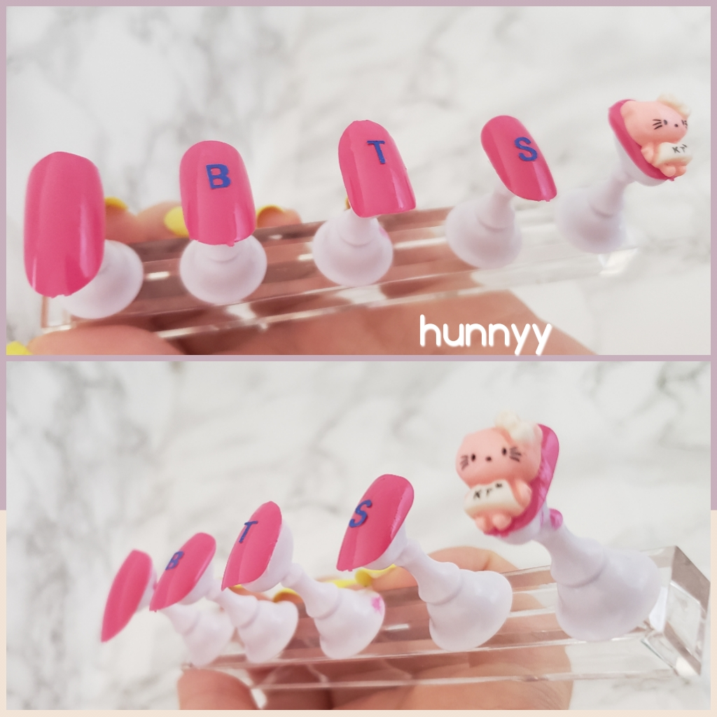 ::Design By Hunnyy:: BTS & Hello Kitty Nails!