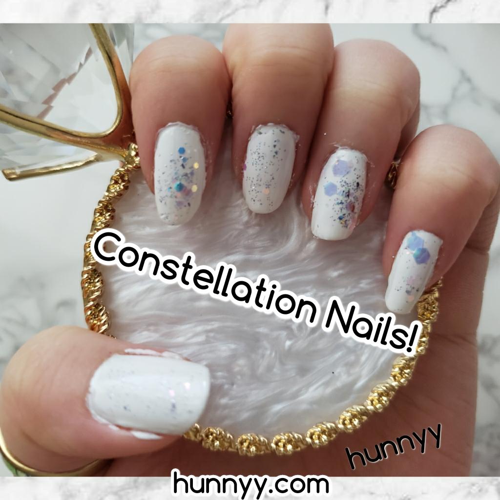 ::Hunnyy Studio:: Constellation Nail Look!