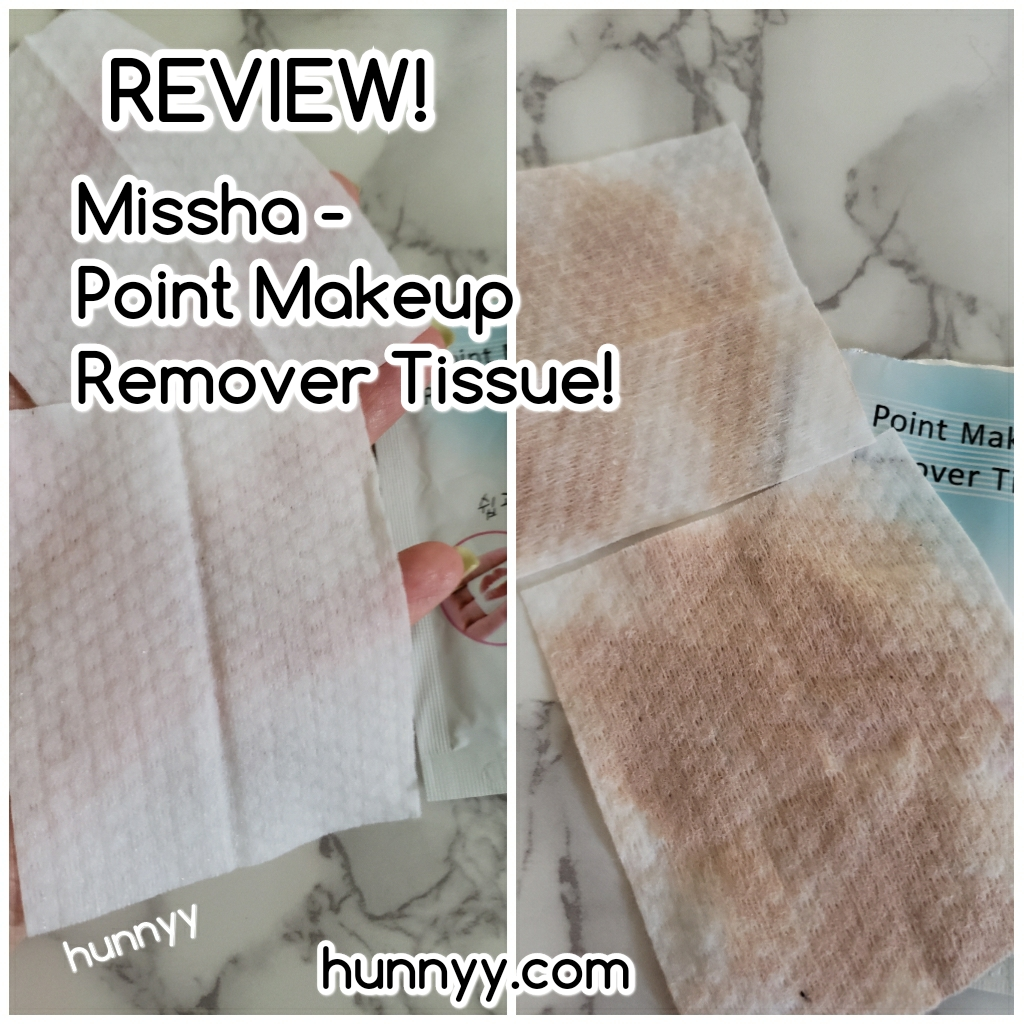 ::REVIEW:: Missha – Point Makeup Remover Tissue!